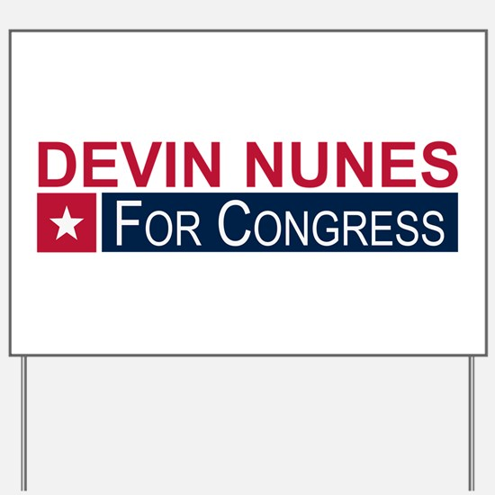 Elect Devin Nunes Yard Sign
