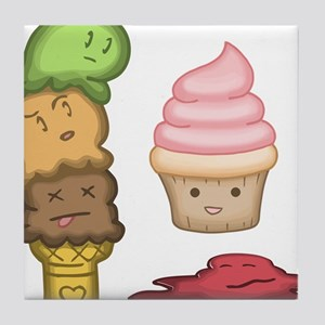 Ice Creamocide Tile Coaster