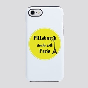 Pittsburgh stands with Paris iPhone 7 Tough Case