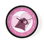 Mini Love Mini Macaw Clock 2