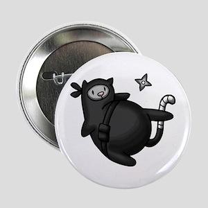 "Ninja Cat 2.25"" Button"