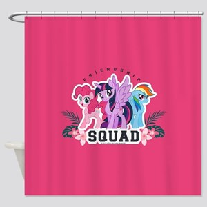 My Little Pony Squad Shower Curtain
