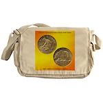 California Diamond Jubilee Coin Messenger Bag