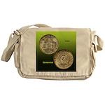 Iowa Centennial Coin Messenger Bag