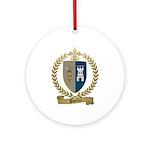 POTTIER Family Crest Ornament (Round)