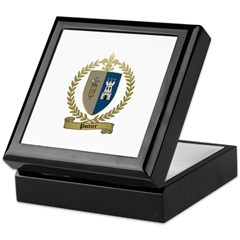 POTTIER Family Crest Keepsake Box
