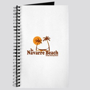 Navarre Beach - Palm Trees Design. Journal