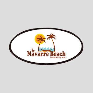 Navarre Beach - Palm Trees Design. Patches