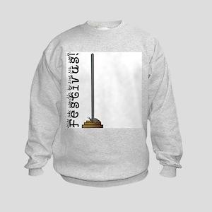 FESTIVUS™ Kids Sweatshirt, Asymmetrical Front