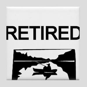 RETIRED-lake Tile Coaster