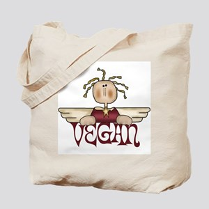Vegan Angel Tote Bag