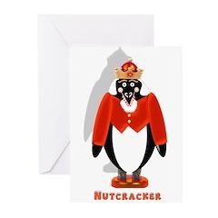 Nutcracker Penguin Greeting Cards (Pk of 10)