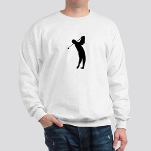 Golfing Silhouette Sweatshirt