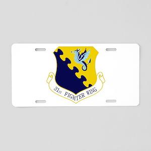 31st FW Aluminum License Plate