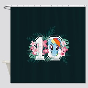 My Little Pony Athletic Shower Curtain