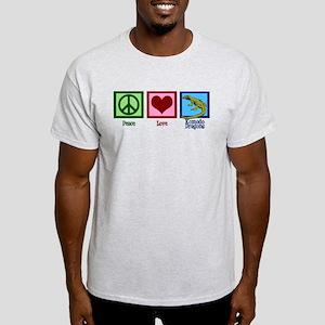 Peace Love Komodo Dragons Light T-Shirt