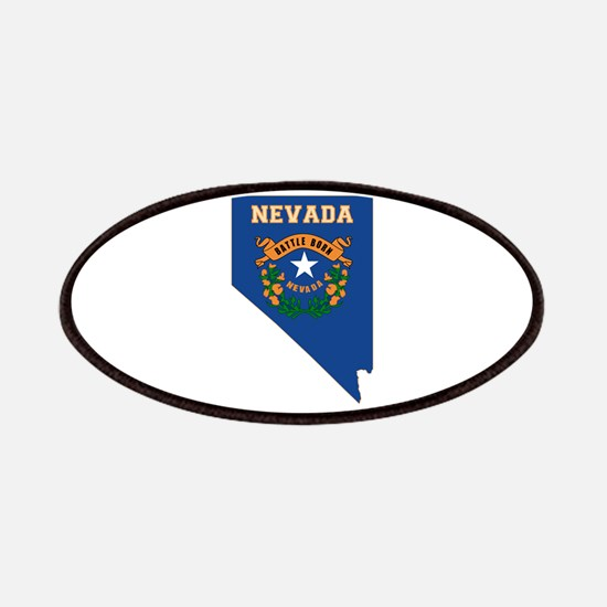 Nevada Flag Patches