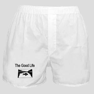 The Good Life. (fisherman on the lake) Boxer Short