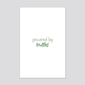 Powered By truffles Mini Poster Print