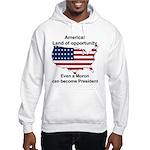 Elect a moron! Hooded Sweatshirt