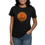 Celtic Knotwork Sun Women's Dark T-Shirt