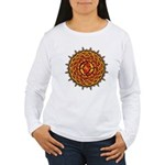 Celtic Knotwork Sun Women's Long Sleeve T-Shirt