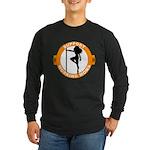 Support Working Moms Long Sleeve Dark T-Shirt