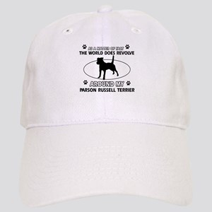 Parson Russell Terrier dog funny designs Cap