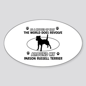 Parson Russell Terrier dog funny designs Sticker (