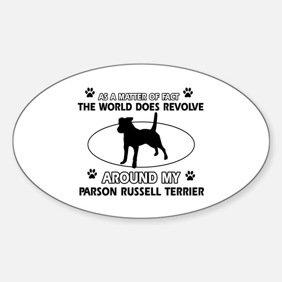 Parson Russell Terrier dog funny designs Decal