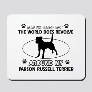 Parson Russell Terrier dog funny designs Mousepad