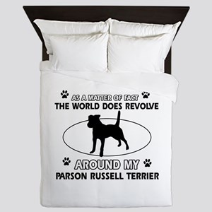 Parson Russell Terrier dog funny designs Queen Duv