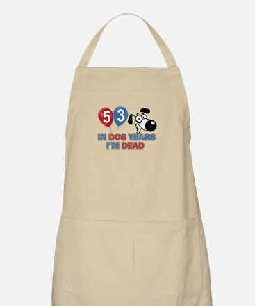 53 year old gift ideas Apron
