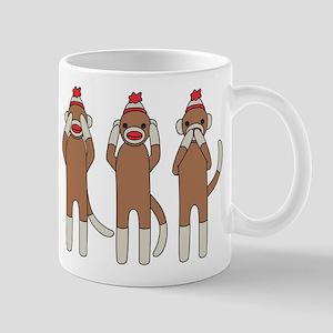 Three Monkeys Mug