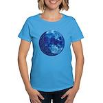 Celtic Knotwork Blue Moon Women's Dark T-Shirt
