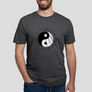 Balance Yin Yang Symbol Mens Tri-blend T-Shirt