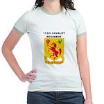 113TH CAVALRY REGIMENT Jr. Ringer T-Shirt