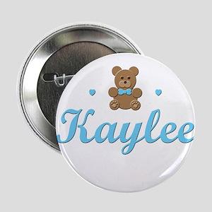 Blue Teddy - Kaylee Button