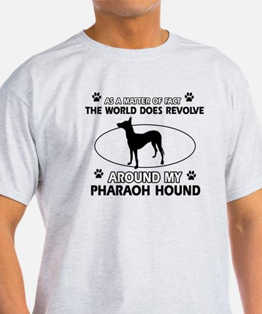 Pharaoh Hound dog funny designs T-Shirt
