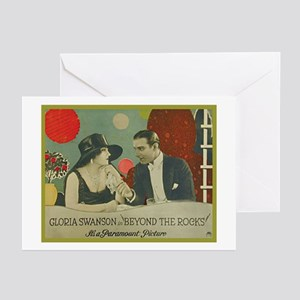 Beyond the Rocks (1922) Greeting Cards (Package of