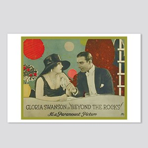 Beyond the Rocks (1922) Postcards (Package of 8)