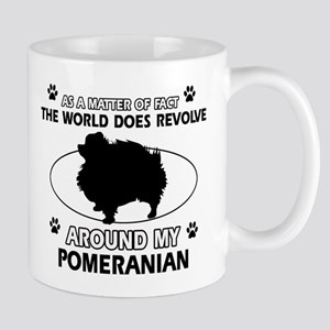 Pomeranian dog funny designs Mug