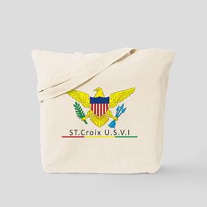 VI Rasta Tote Bag