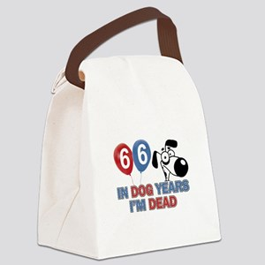 66 year old gift ideas Canvas Lunch Bag