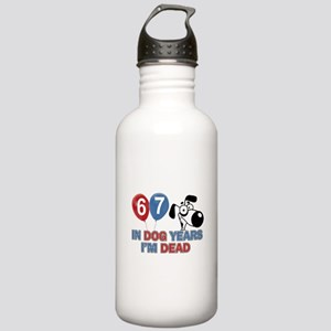 67 year old gift ideas Stainless Water Bottle 1.0L