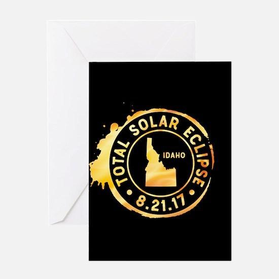 Eclipse Idaho Greeting Card
