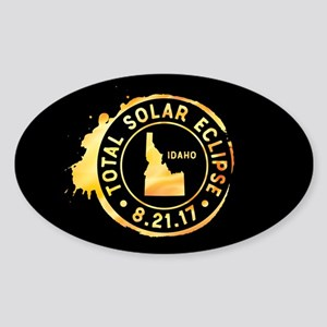 Eclipse Idaho Sticker (Oval)