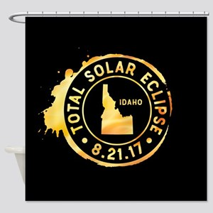 Eclipse Idaho Shower Curtain