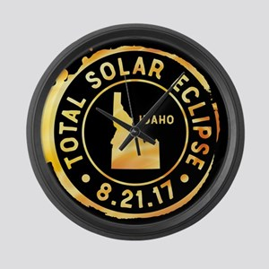 Eclipse Idaho Large Wall Clock