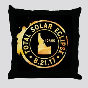 Eclipse Idaho Throw Pillow
